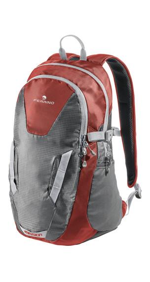 Ferrino Mission dagrugzak 25 L grijs/rood